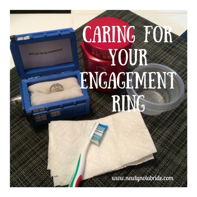 NOLA Bride: How to Care for Your Engagement Ring, Part 2