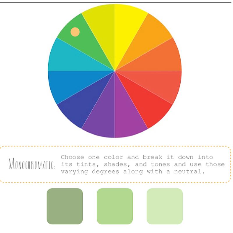 Burnett's Boards monochromatic example.  Photo Credit.