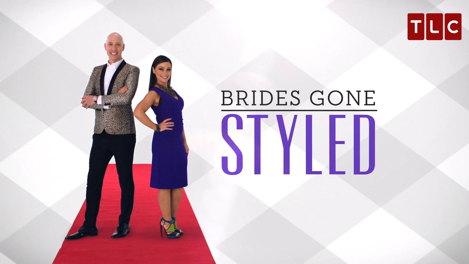 Celebrity stylists Gretta Monahan & Robert Verdi of Brides Gone Styled on TLC.