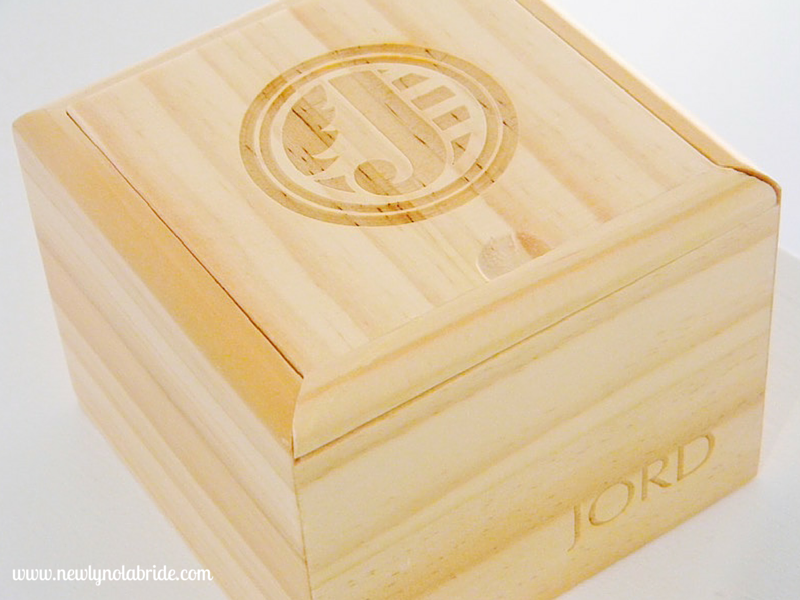 Jord Wooden Watches are a unique, eco-friendly, and make a perfect gift for any bride!