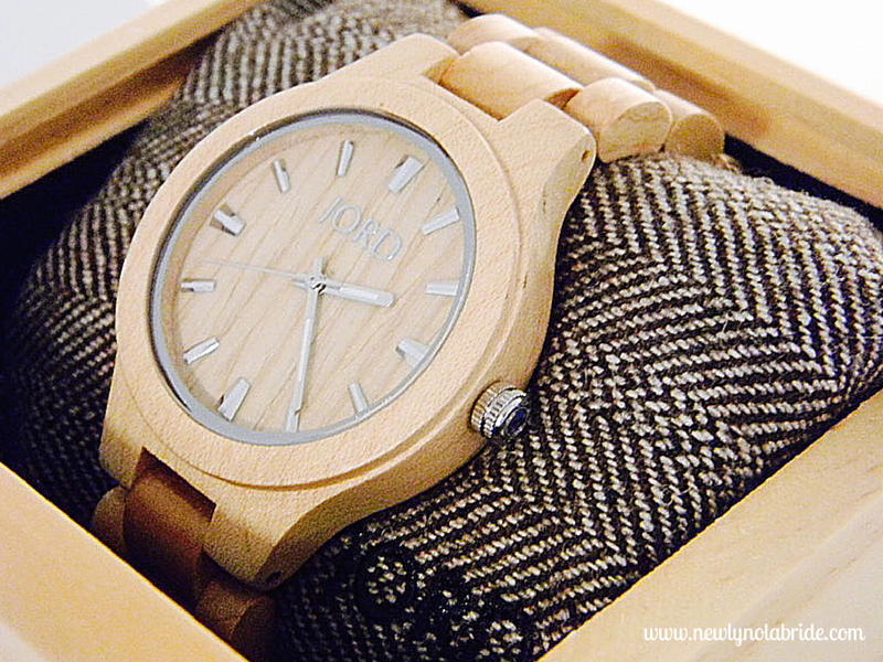 Jord Wooden Watches are unique, eco-friendly, and the perfect gift for any bride!