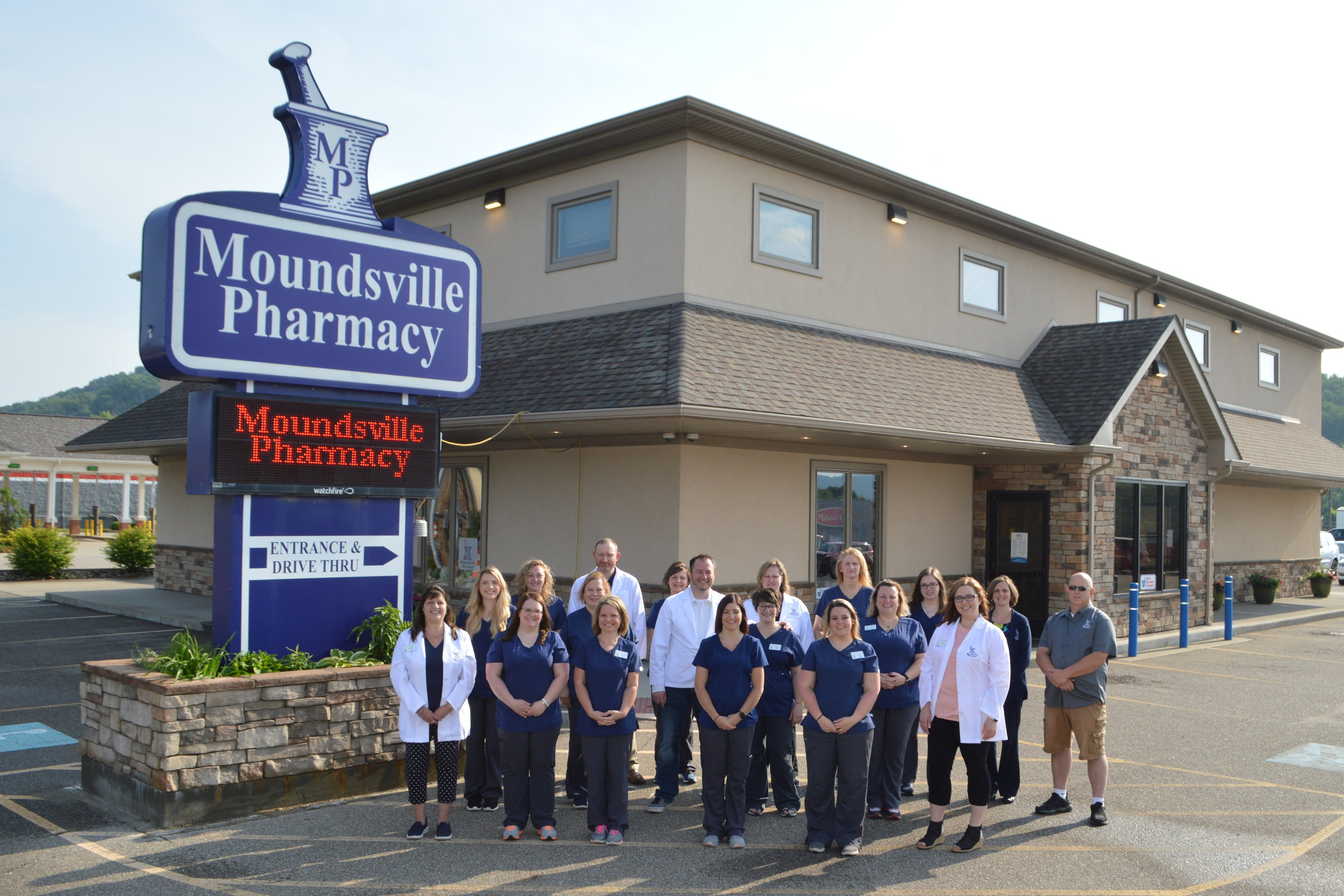 Moundsville Pharmacy team on May 28th, 2019