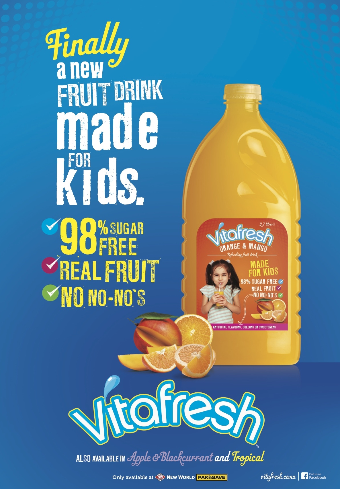 VITAFRESH    Re-invigorating the brand through a new positioning and product format