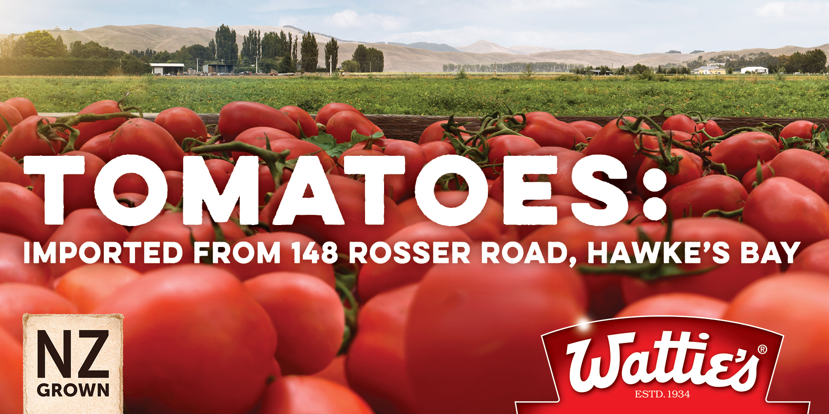 WATTIE'S NZ GROWN   Reinforcing the deep NZ heritage of an iconic brand
