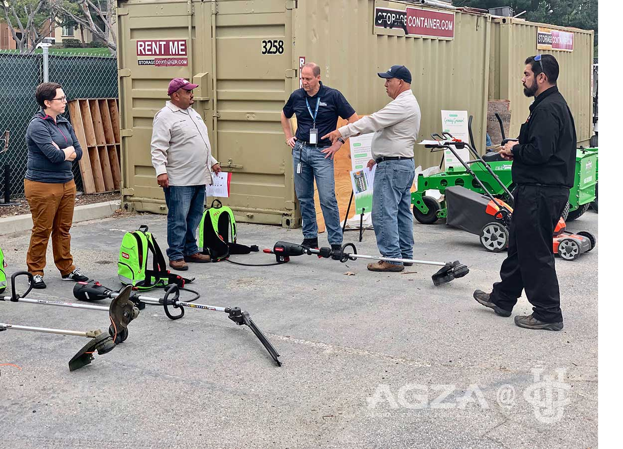 AGZA at UC Irvine Electric Equipment Showcase — AGZA