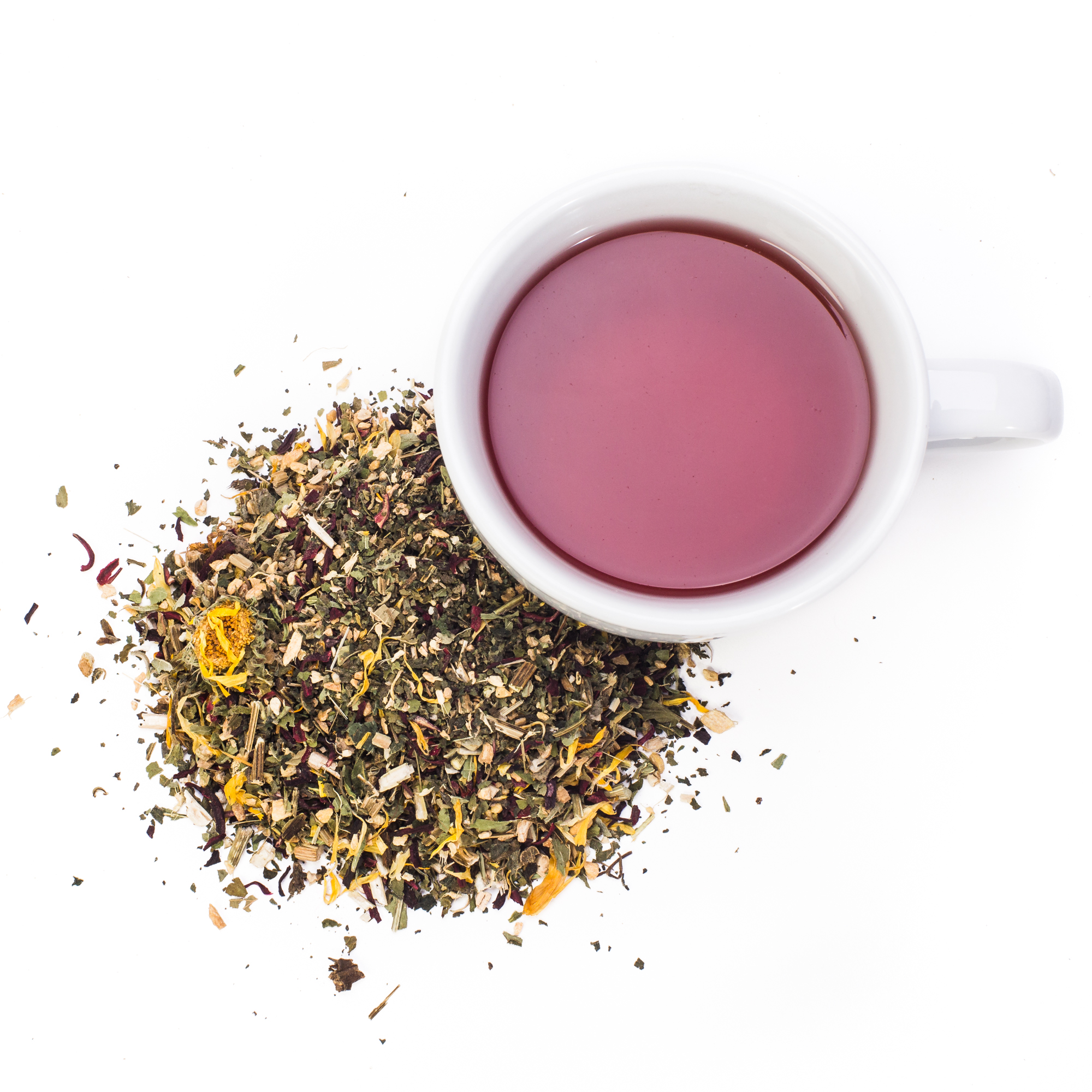 IMMUNI-TEA - This beautiful blend is anti-bacterial, anti-viral, and anti-microbial. This is also the tea that you want to be drinking between the sick to keep your immune system working strong.