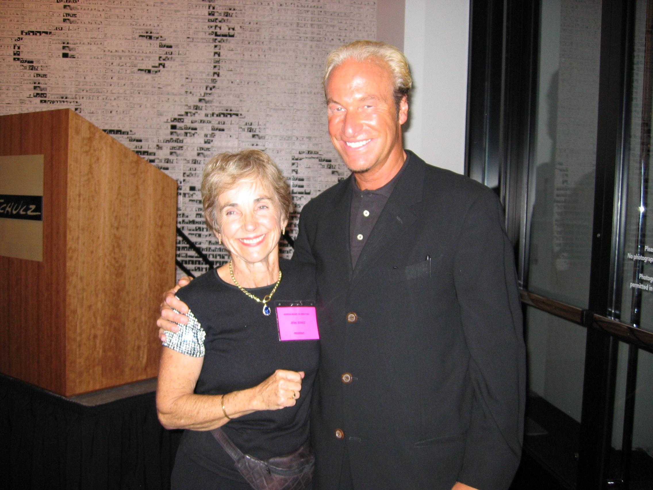 With Jeannie Schulz