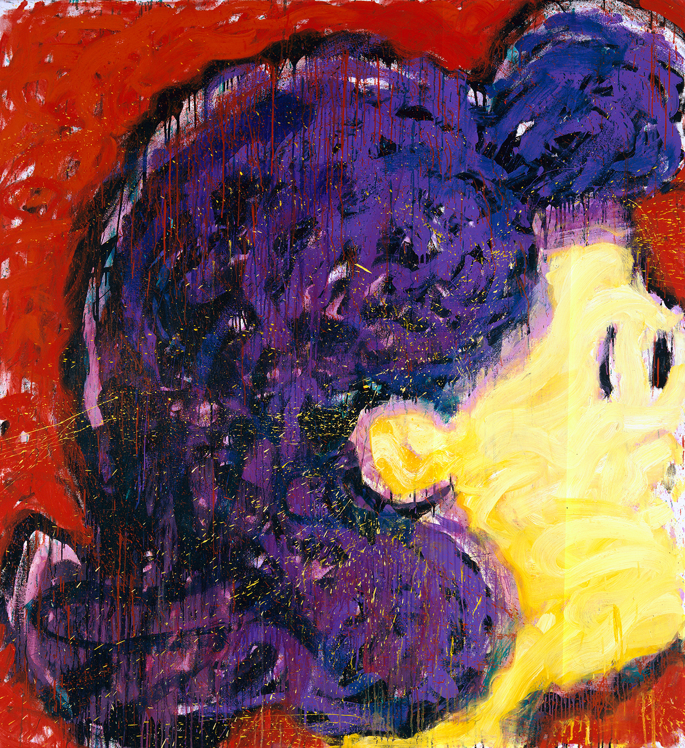 Lucy-Do   oil on canvas   70″ x 64″   1990