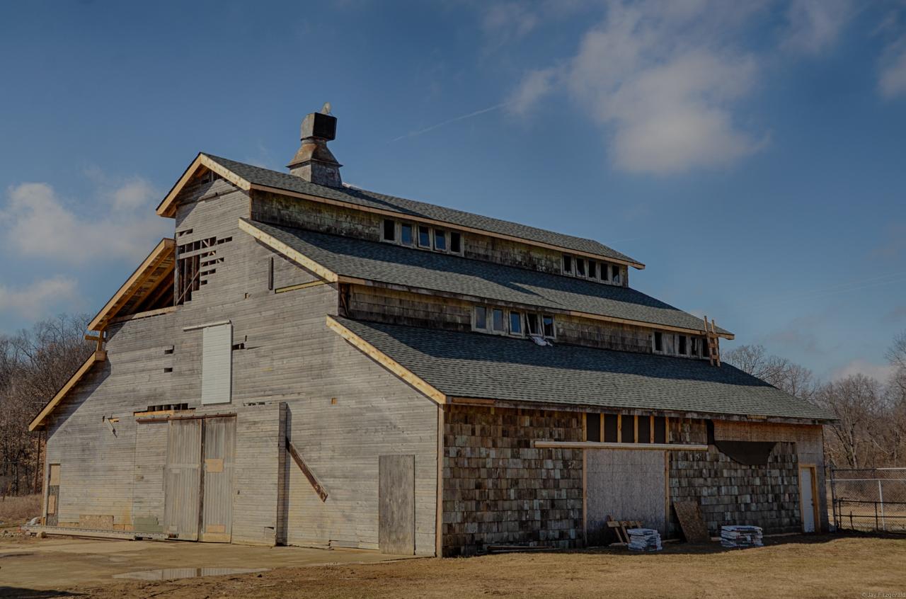 Edsel Ford Barn New East Roofing 032515--2.jpg