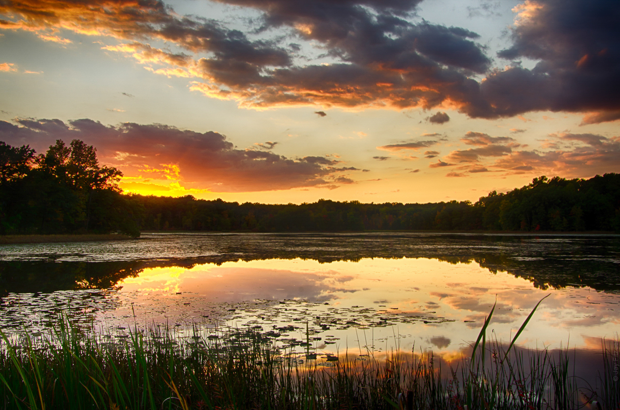 Haven Hill Lake Sunset - 092912 - JLF.jpg