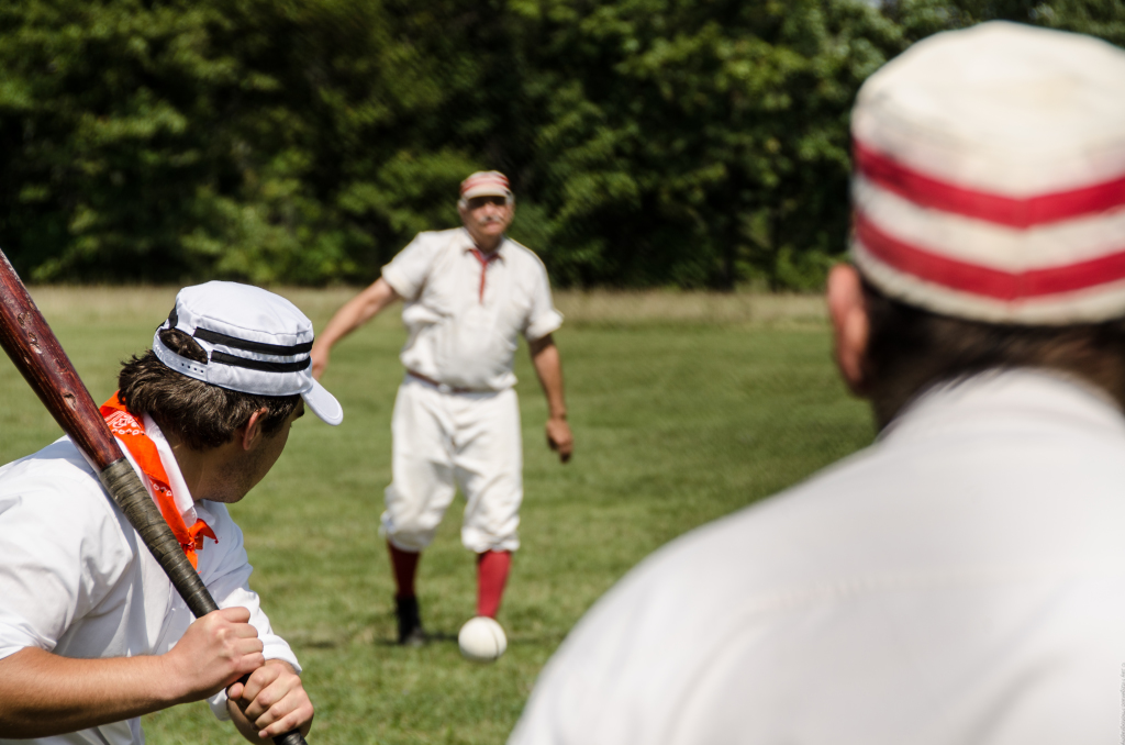 Vintage Base Ball Game and Model A Ford Cars at 10:00 am Saturday