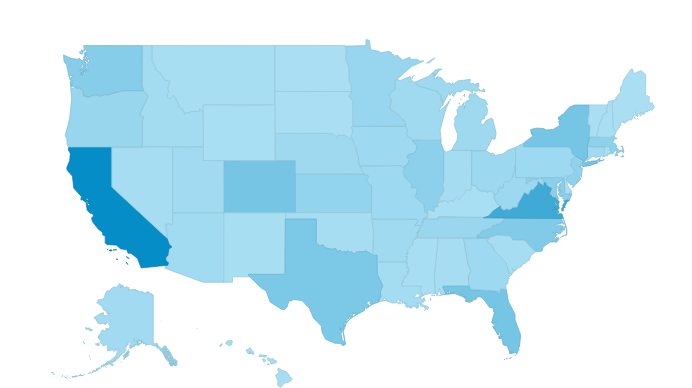 Traffic to the Toolkit has come from all 50 states