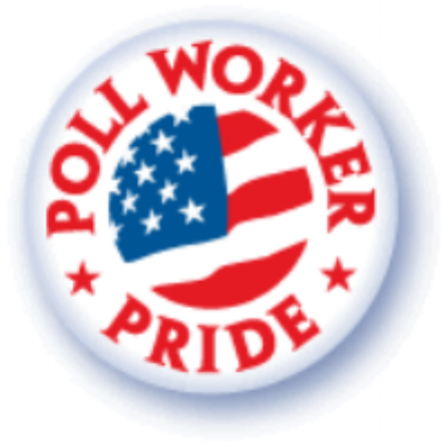 Being a poll worker is an important job!