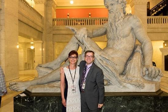 Grace Wachlarowicz and Casey Carl. Photo courtesy of Grace Wachlarowicz.