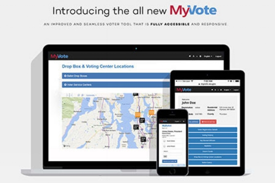 "MyVote: ""fully accessible and responsive"""