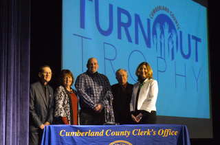 The Turnout Trophy Award Ceremony. Photo Courtesy of Cumberland County.