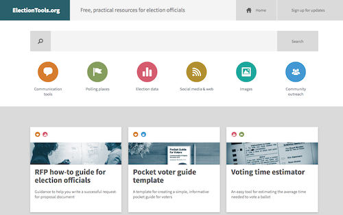The new ElectionTools.org