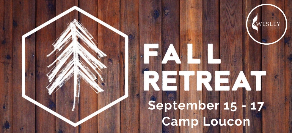 Fall Retreat - Every September, all the Wesley Foundations in the state gather at one of the Methodist camps in Kentucky for a weekend of worship, messages from other Wesley directors, camp adventures, and enjoying the outdoors.