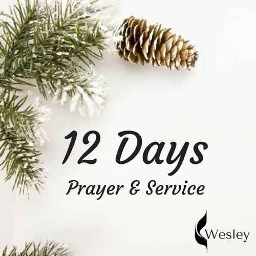 12 Days - Every year, we partake in 12 consecutive days of prayer and service. We spend every other day partaking in different service initiatives, and every day preceding each service event is spent in prayer over the events.