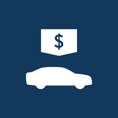The user can now select the presented information to learn more about the vehicle, or receive loan and insurance quotes from USAA.