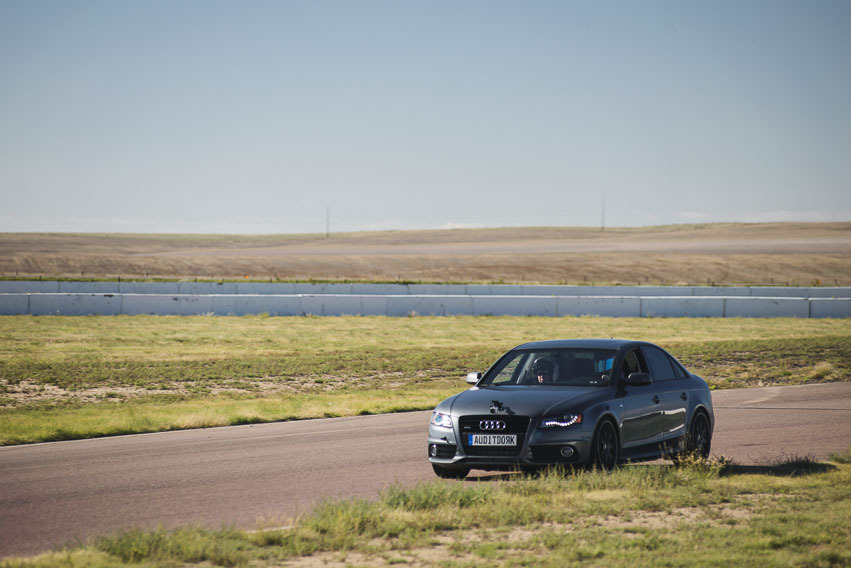 Track day with the A4
