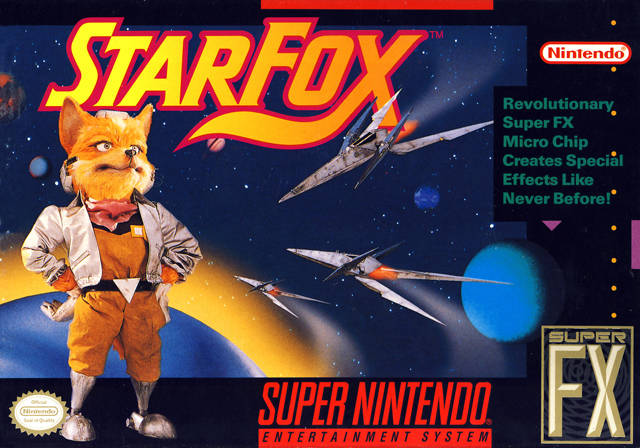 Star Fox - Nintendo & Argonaut Software | 1993