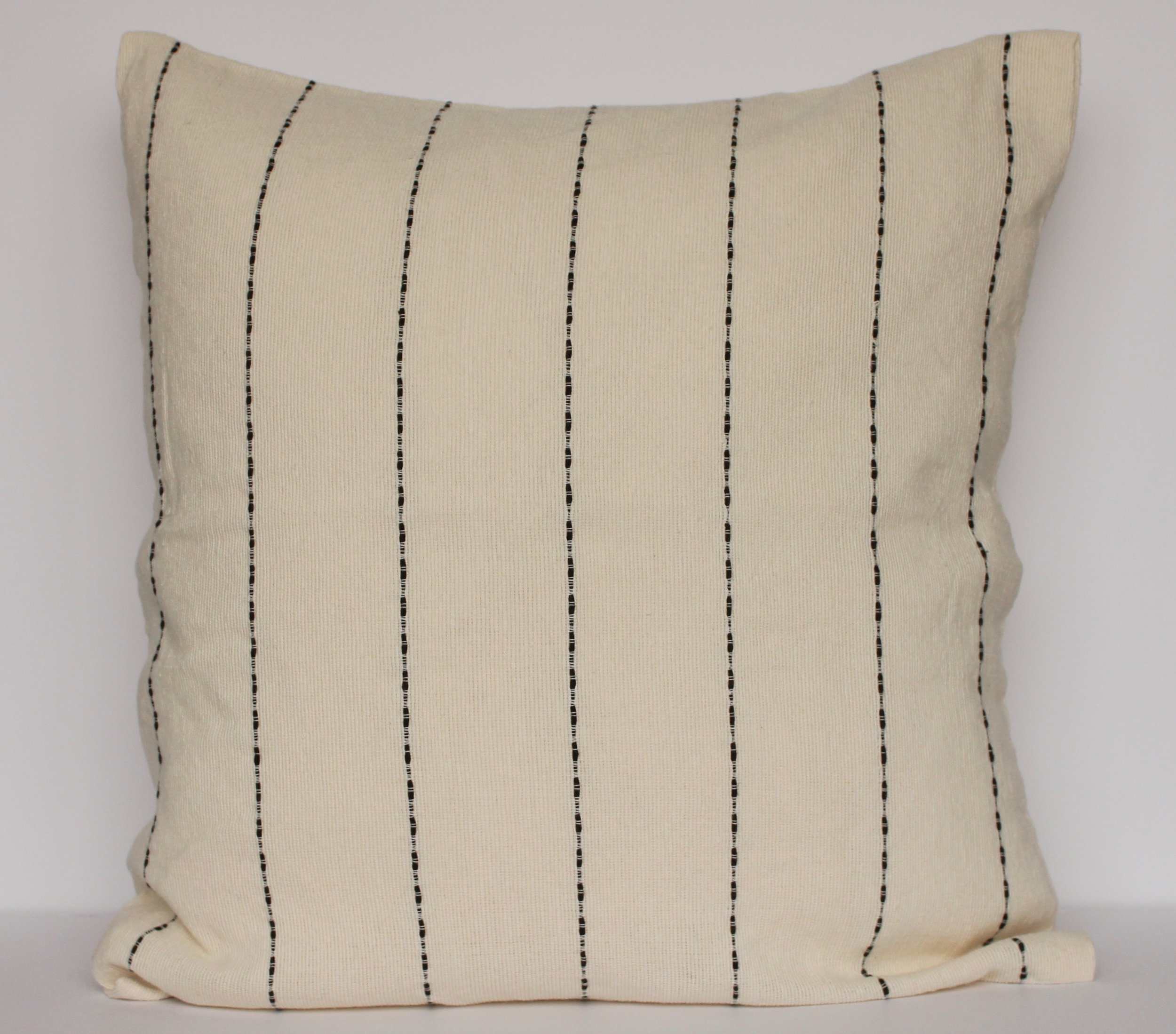 Stacatto patterned cushion