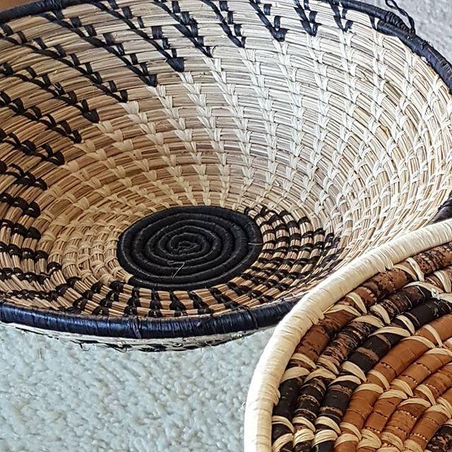 ❤ these baskets woven by women in Uganda #womenhelpingwomen #wovenbasket #homegoods #homeaccessories #neutrals