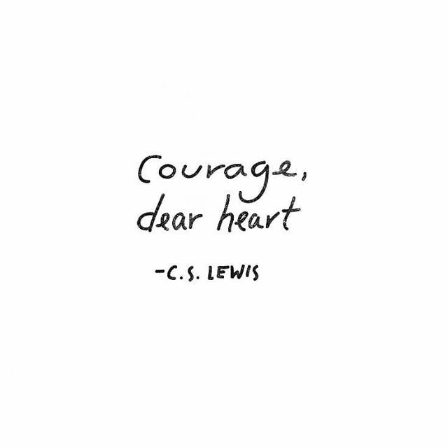 #sunday #courage #cslewis #aslan #voyageofthedawntreader #chronicalsofnarnia #narnia #quotes