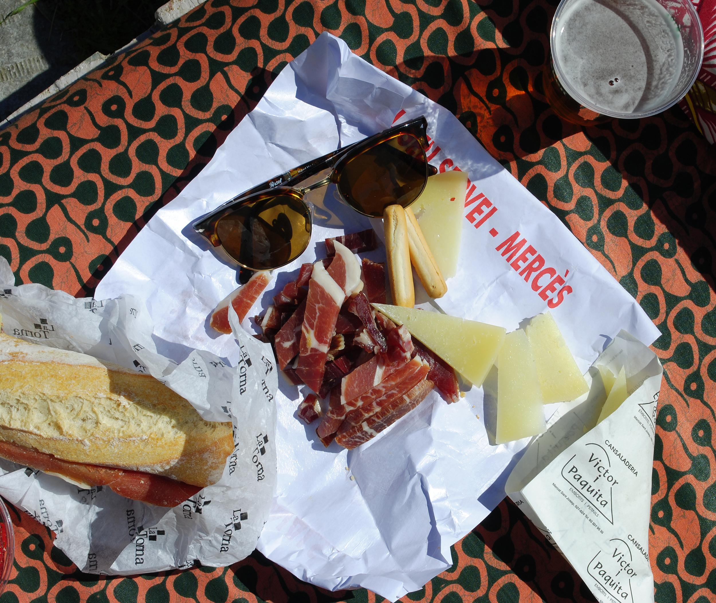 Our mountaintop picnic
