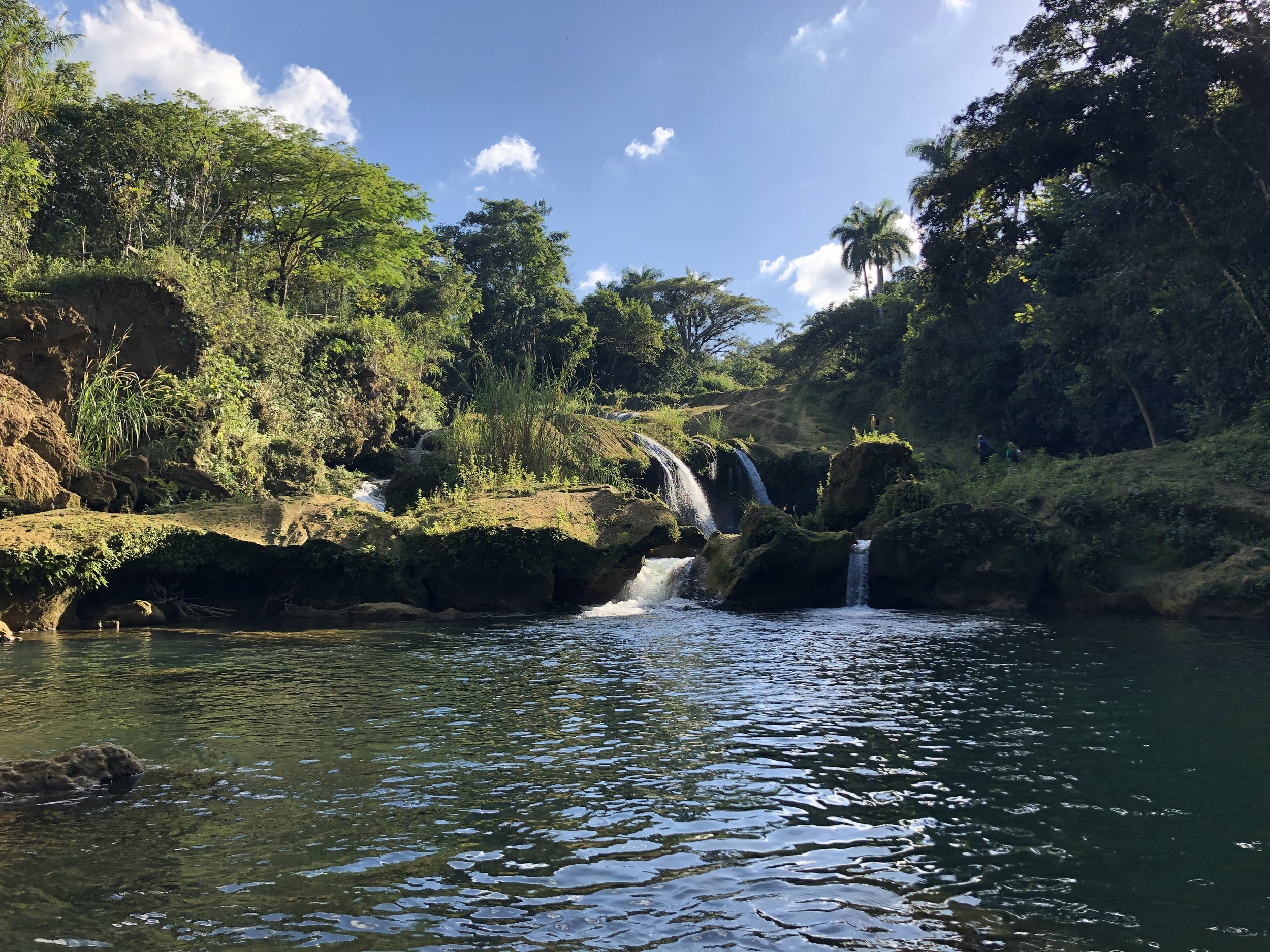 El Nicho - A natural park in the Escambray Mountains