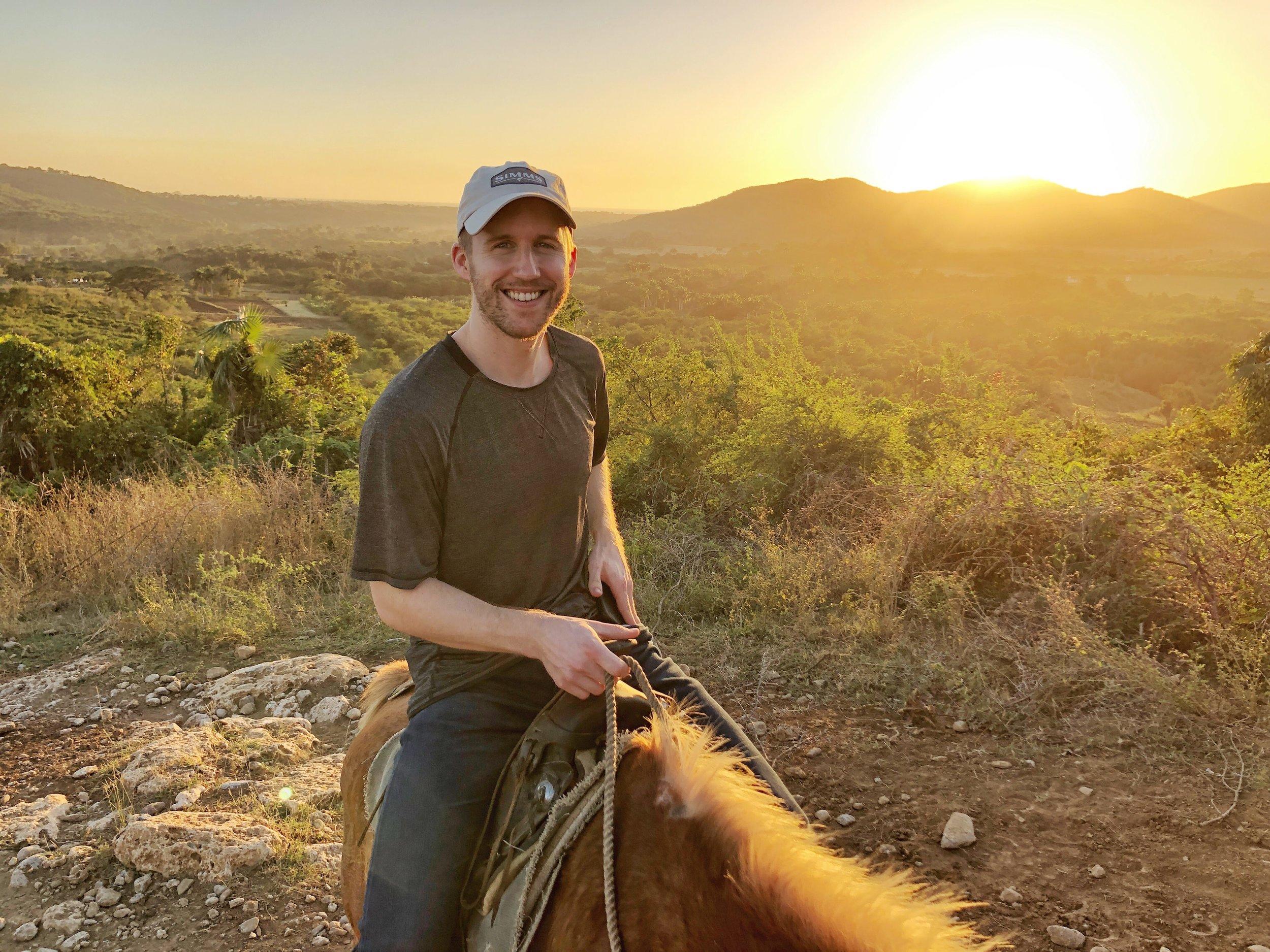 Trinidad - Horseback riding through sugar cane fields