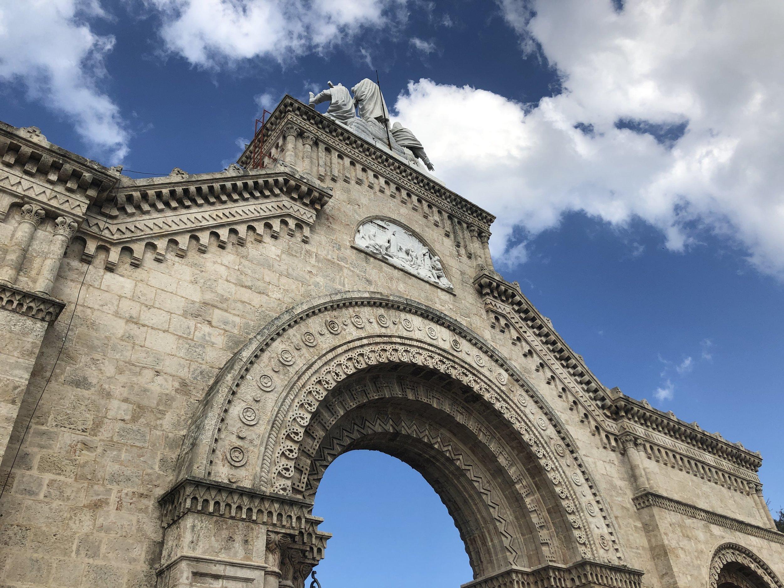The gate of Cristóbal Colón Cemetary