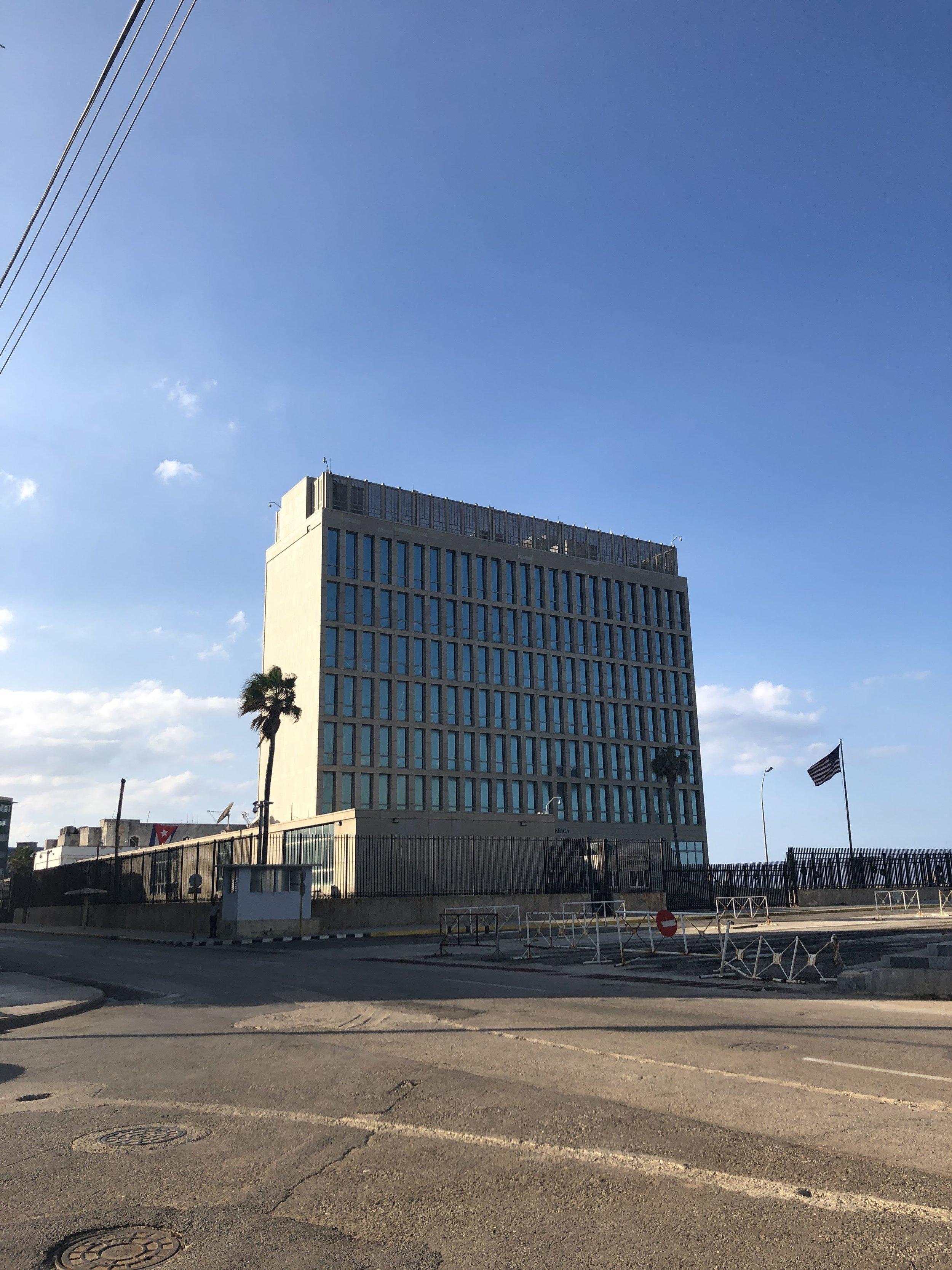 The U.S. Embassy