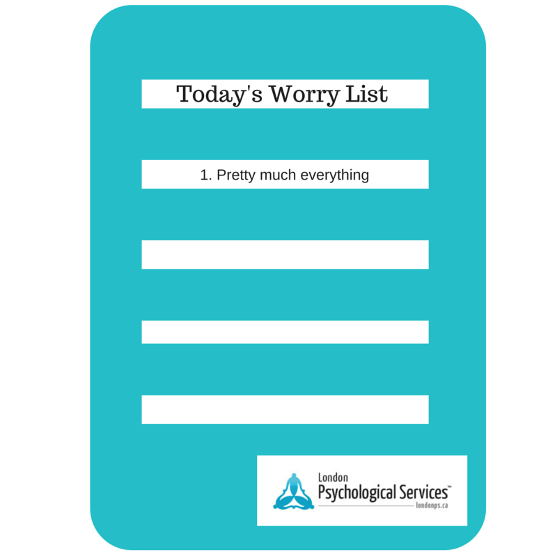 Stress Anxiety Worry | Agnes Wainman | London Psychological Services