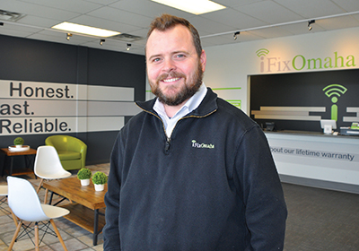 iFixOmaha is the 2017 first place winner of the Best Of Omaha smartphone repair competition. Our owner, Jason DeWater, is a member of the 2017 Midlands Business Journal top 40 Under 40.