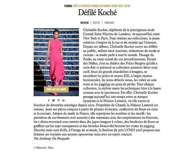 KOCHÉ // VOGUE.FR