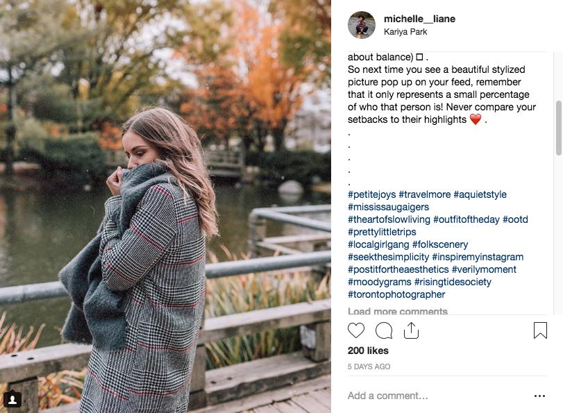 Instagram Hashtag Examples