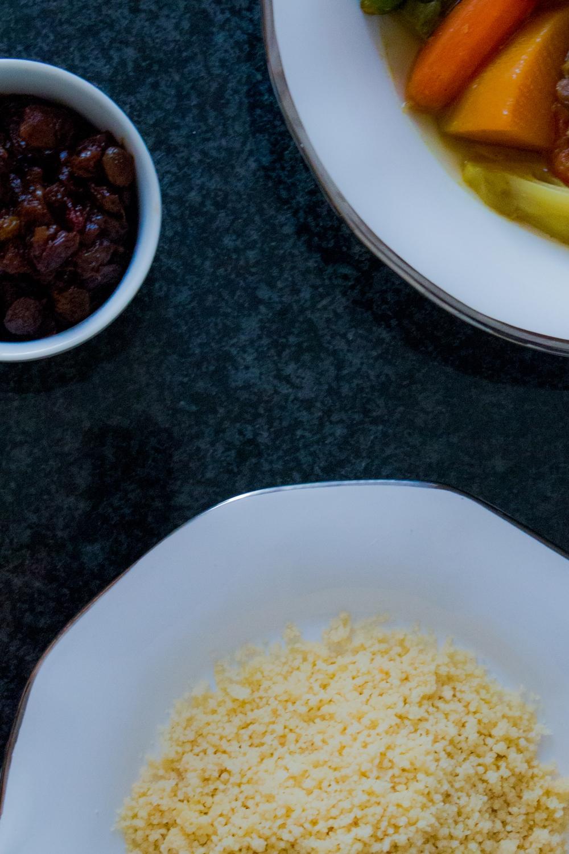 Moroccan 7 Vegetables Couscous