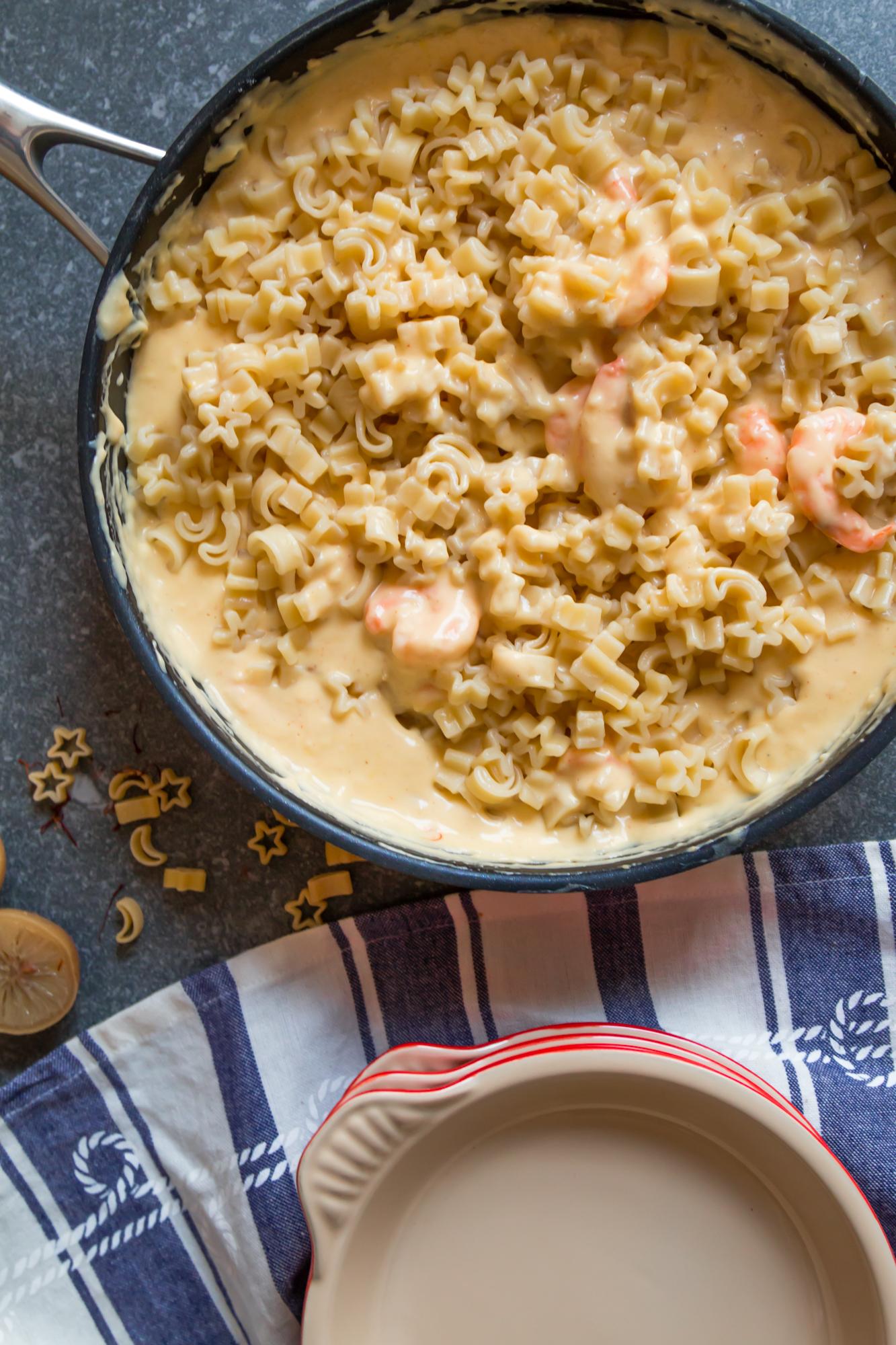 Shrimp, preserved lemon and saffron mac and cheese -1.jpg