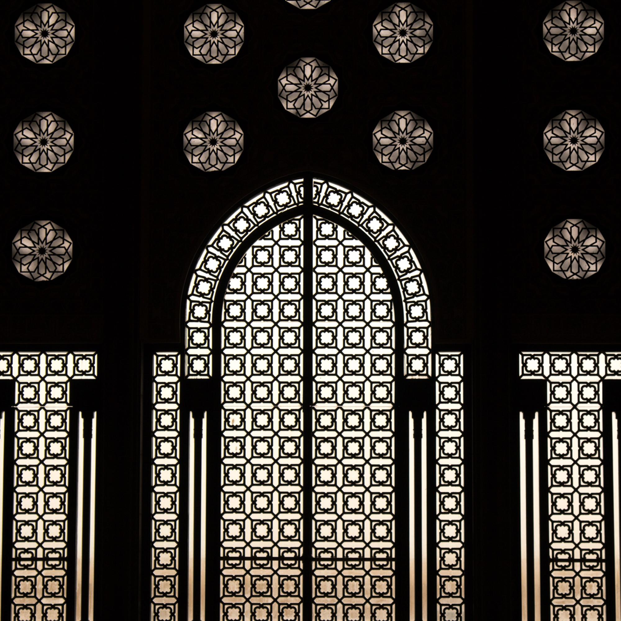 Inside Hassan 2 Mosque - Mosaique.jpg