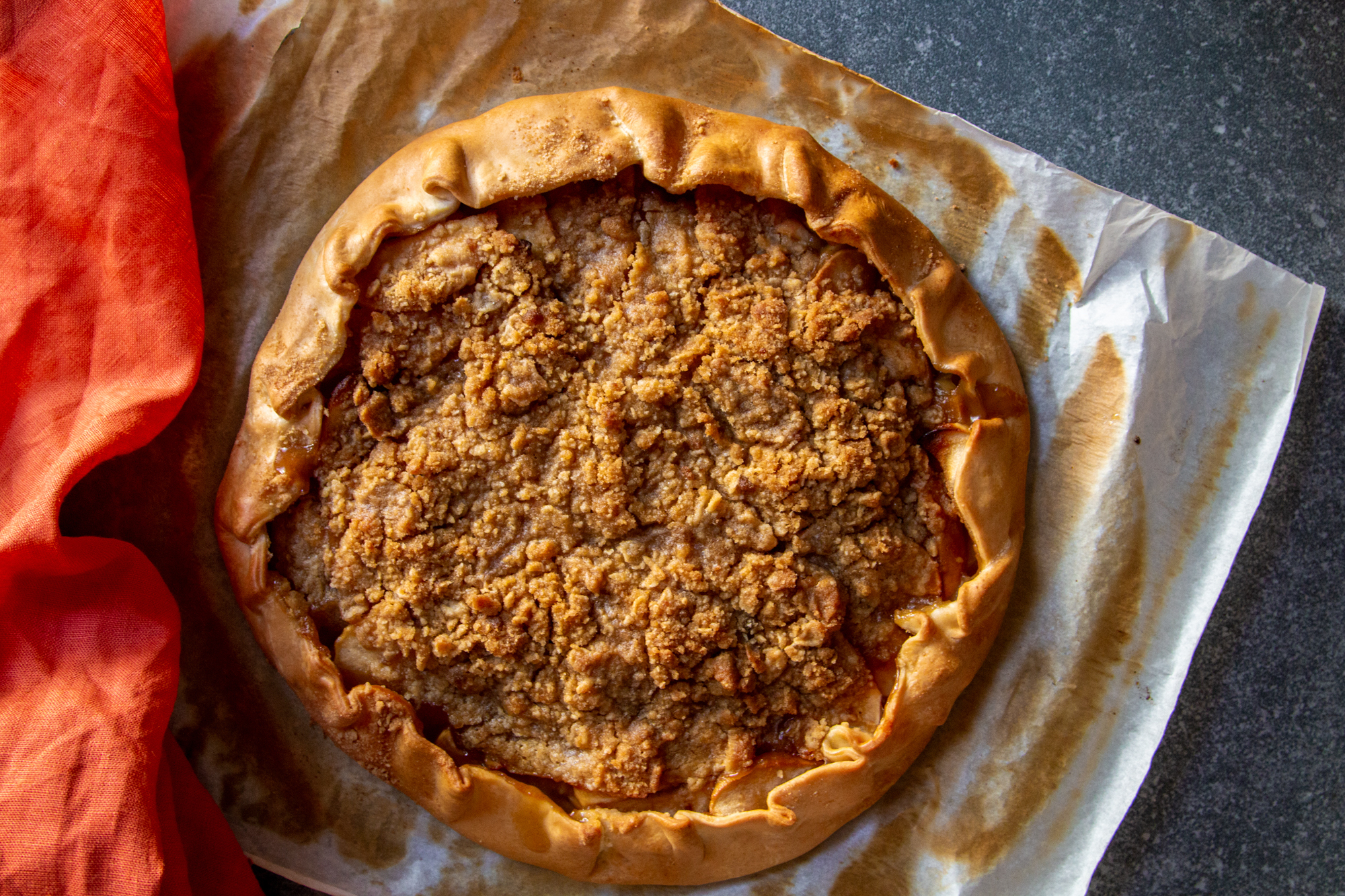 orange blossom apple galette with crumble top -5.jpg