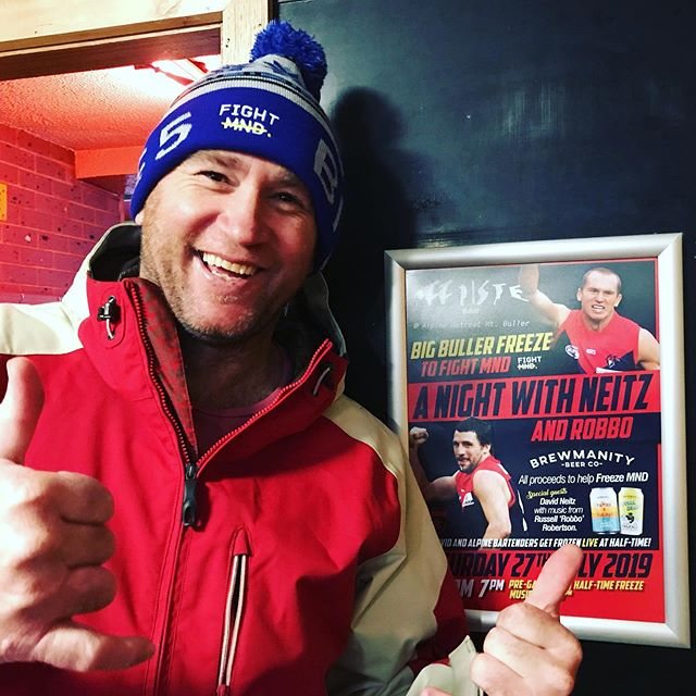 And the total was... $4000!!! #happyNeitz  Thank you to everyone who came and donated last night to help us @fightmnd, we DOUBLED our target and had a great time doing it. You're all amazing!  #BigBullerFreeze #fightmnd #fundraising #davidneitz #bigfreeze