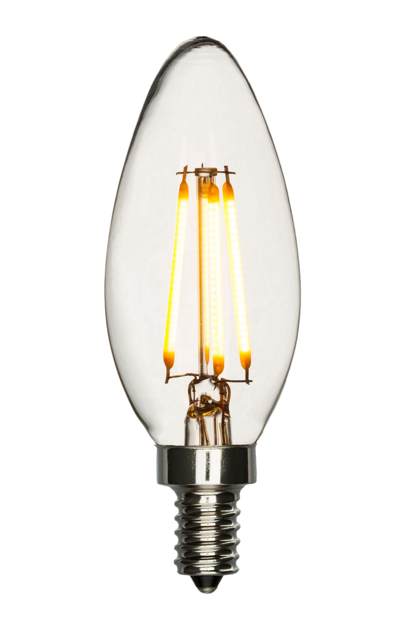 led chandelier bulb blunt tip