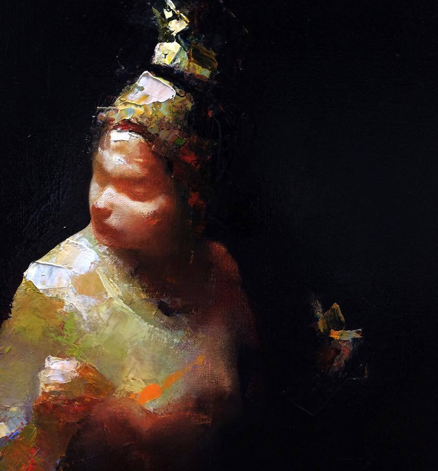 Paul W Ruiz , Her still life 51 x 51 cm, oil on linen