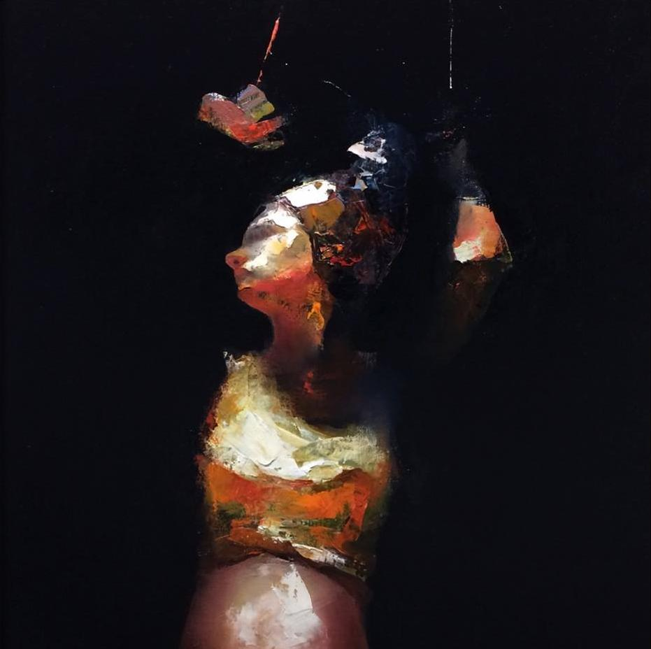 Paul W Ruiz , Junio oil on linen, 81 x 112 cm