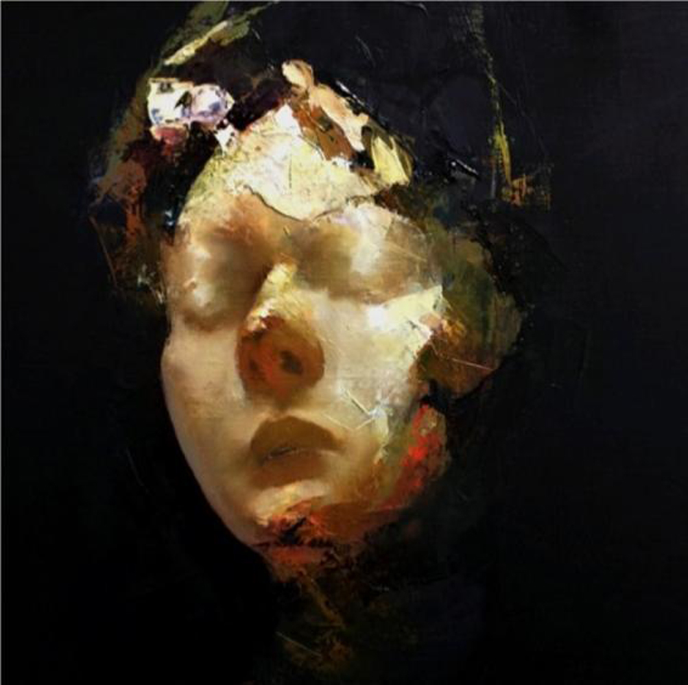 Paul W Ruiz , Excavado oil on linen, 30 x 40 cm