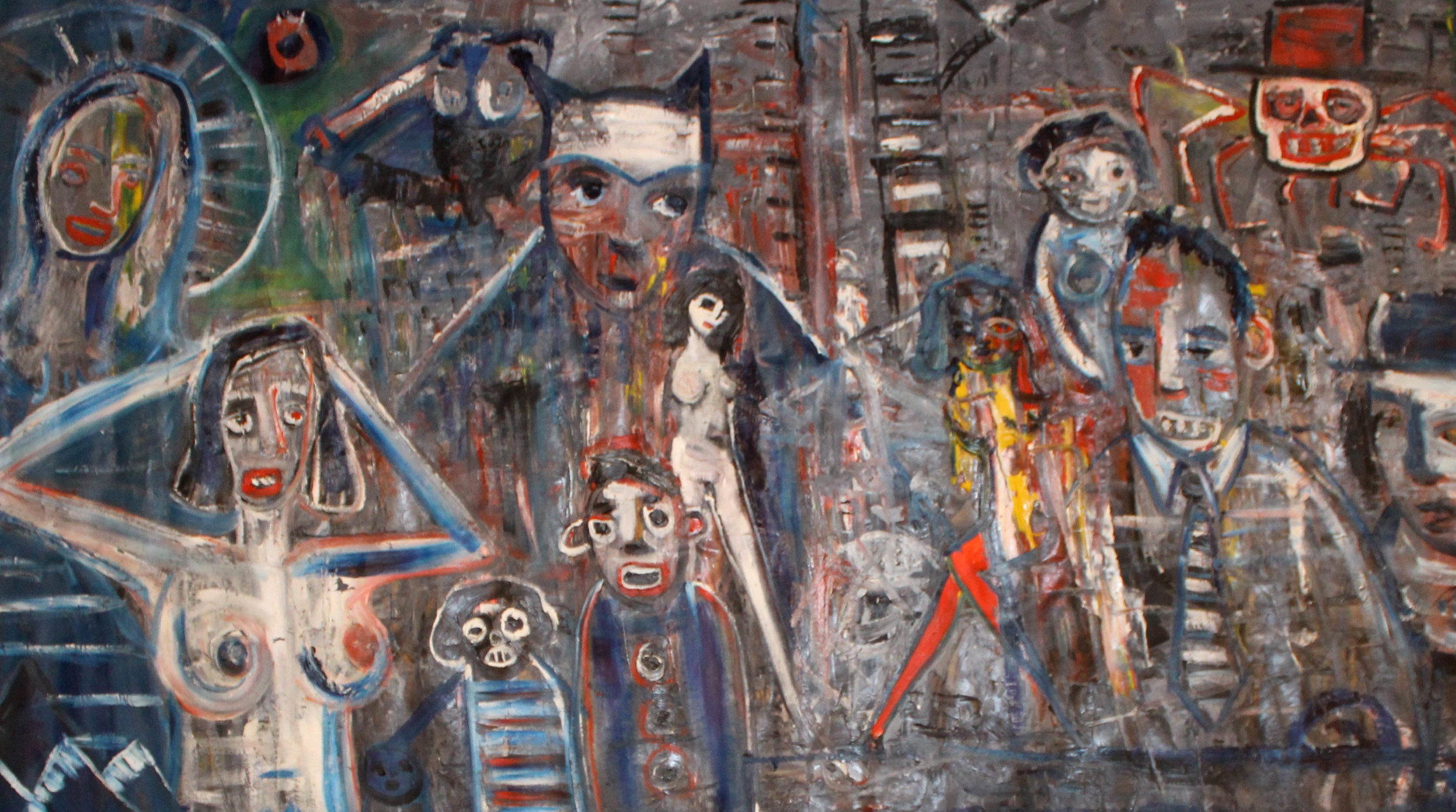 Noah Taylor, Untitled 2 170 x 100 cm, oil on canvas,available
