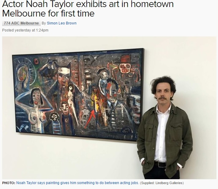 noah taylor art lindberg galleries