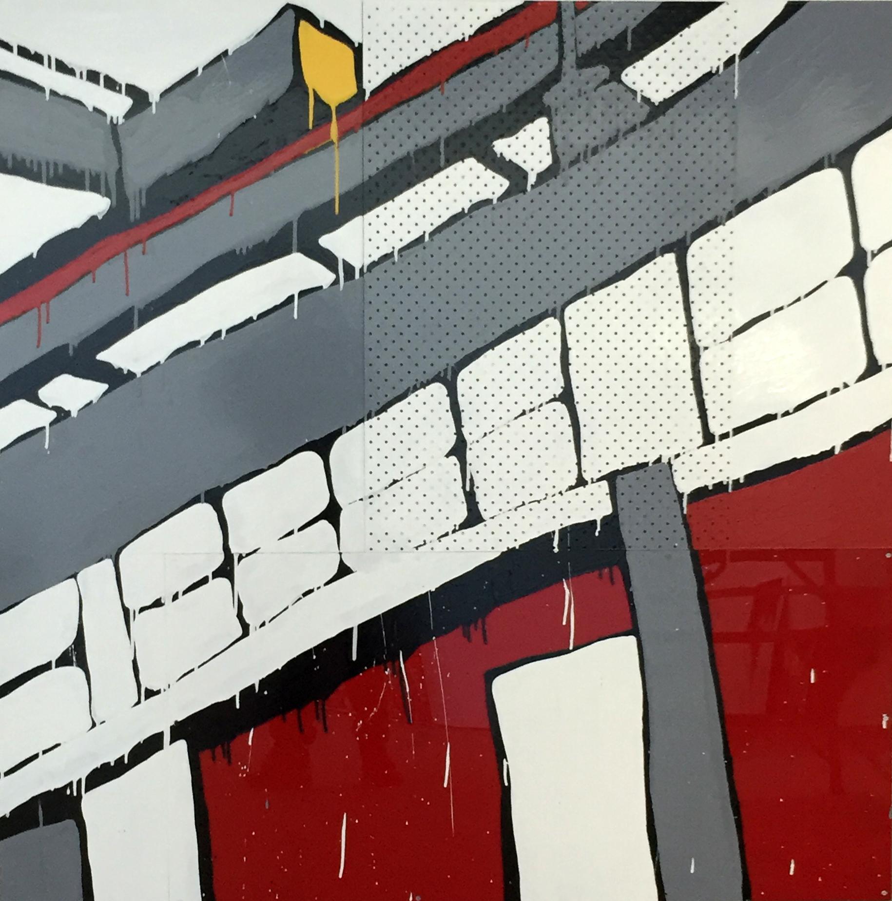 Jasper Knight, North Wharf No. 5 Berth 150 x 150 cm, available